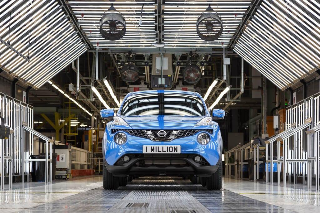 Afbeelding voor 1.000.000ste Nissan JUKE