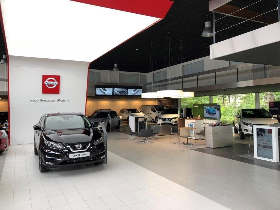 Afbeelding voor Nieuwe showroom voor Nissan
