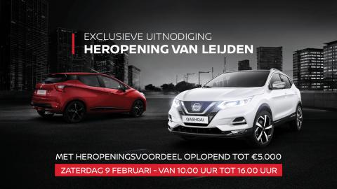 Afbeelding voor Heropening Nissan-showroom