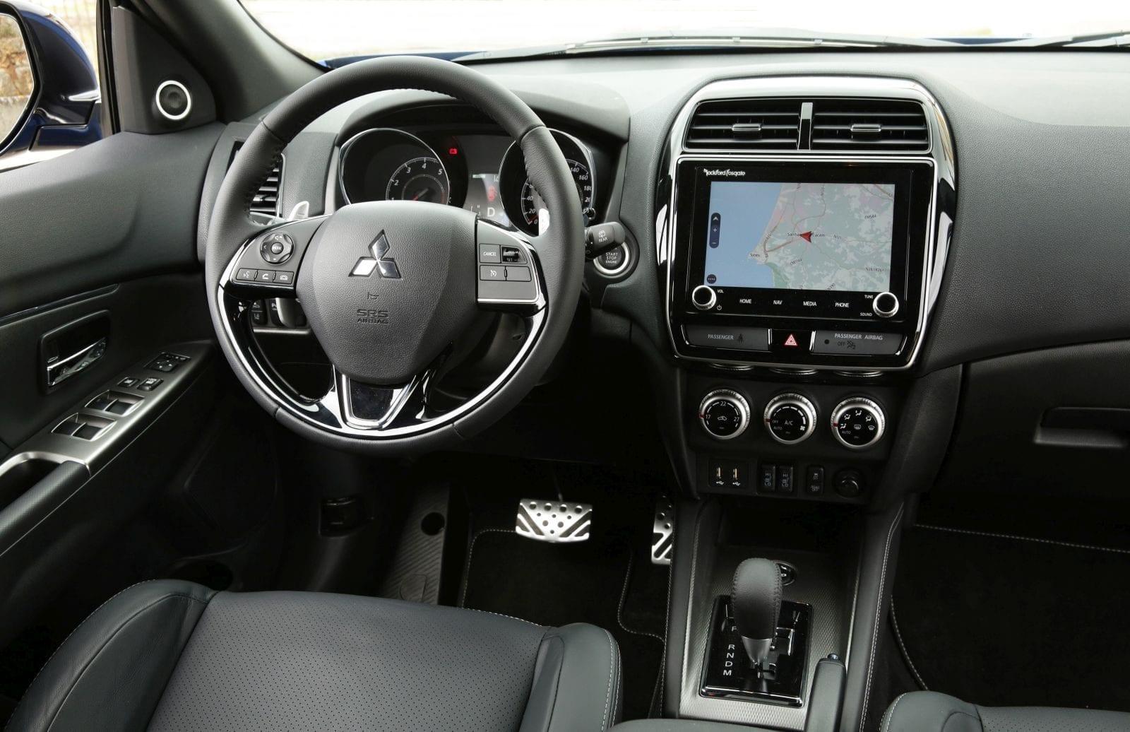 Vernieuwde Mitsubishi ASX